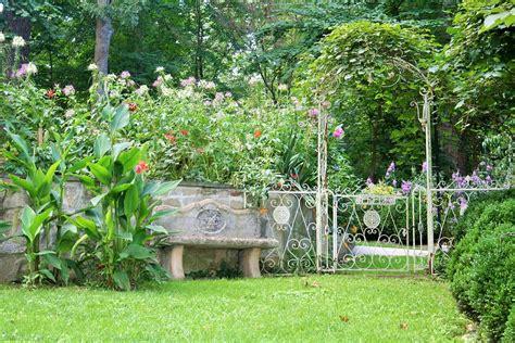Free Photo Summer Garden, Garden Bench  Free Image On