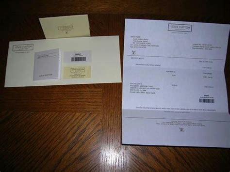 lv receipts templates lv eluxury receipt templates  paypal
