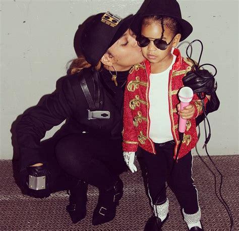 halloween west celebrity north beyonce instagram cuteness daughter michael ivy isn bring kid