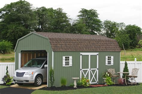 Car Shed by Prefab Garage Packages From Sheds Unlimited In Lancaster