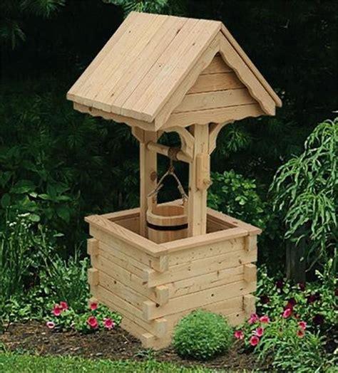 amish outdoor wooden wishing   pine roof jumbo