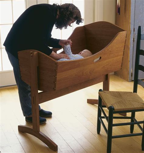 shaker baby cradle plans woodworking projects plans