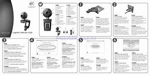 Quick Start Manual For Misc Electronics Logitech V