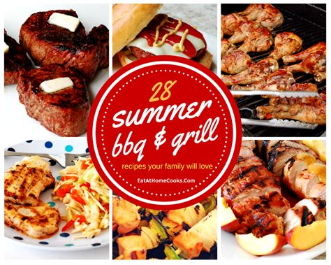 Easy Summer Bbq & Grilling Recipes Your Family Will Love