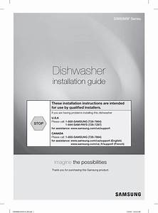 Samsung Dw80m9960us  Aa 0000 User Manual Dishwasher Manuals