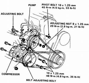 Service Manual  How To Change Serpentine Belts On A 1987