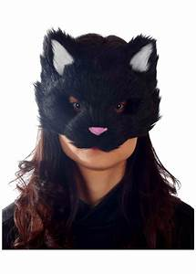 black fuzzy mask masks