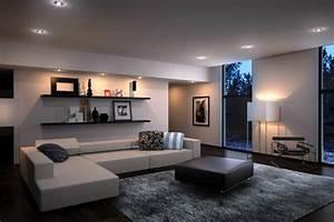 Wohnzimmer Einrichten Farben : szene wohnzimmer ideen modern wohnzimmer einrichten 4 von ~ Lizthompson.info Haus und Dekorationen