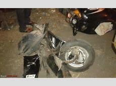 Crash & Burn 23year old crashes his BMW M3 into an