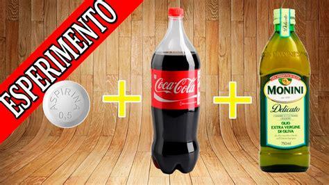 si鑒e coca cola esperimenti per bambini di scienze coca cola olio e pasticche quale reazione si scatenerà