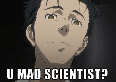 Steins Gate Memes - steins gate meme memes