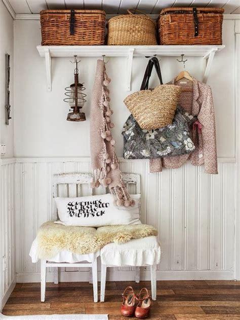 shabby chic organization ideas ideas para decorar el recibidor en estilo shabby chic