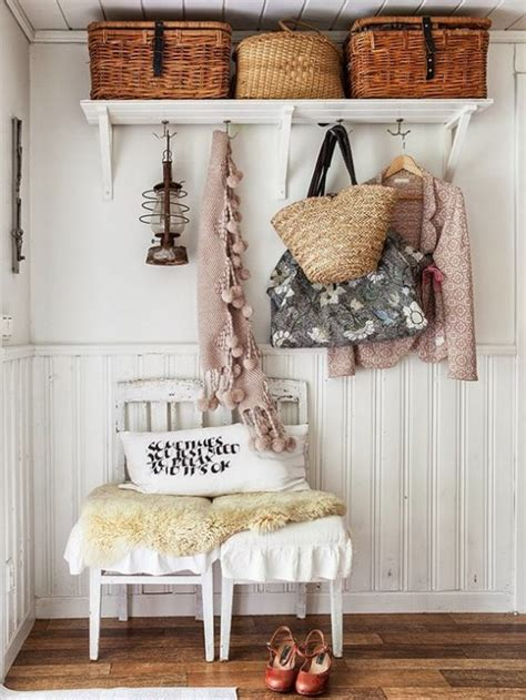 cute  sweet shabby chic hallway decor ideas digsdigs