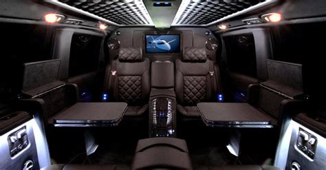 call luxury travel mercedes viano black