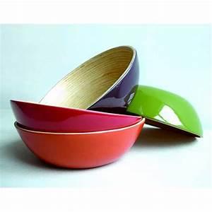 Bol En Bambou : vaisselle en bambou assiette bol solo gris achat vente bol mug mazagran cdiscount ~ Teatrodelosmanantiales.com Idées de Décoration