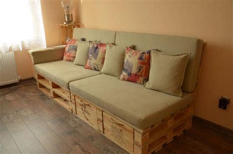 Wood Pallet Sofa by Top 12 Unique Pallet Sofa Ideas Pallet Wood Projects