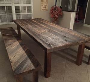 ideas for reclaimed dining room tables furniture home With dining tables made from reclaimed wood