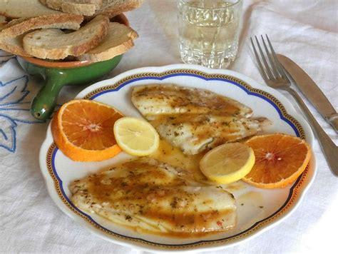 cucinare halibut filetti di platessa con salsa di arancia cucinare it