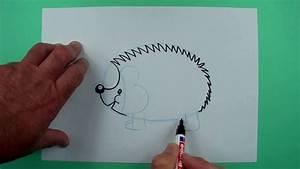 Wie Pflegt Man Einen Weihnachtsstern : wie zeichnet man einen igel zeichnen f r kinder youtube ~ Lizthompson.info Haus und Dekorationen