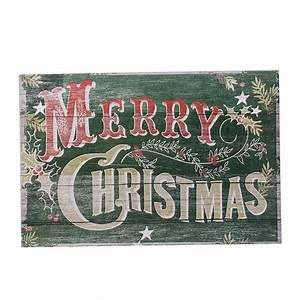 Old, Fashioned, Merry, Christmas, Sign