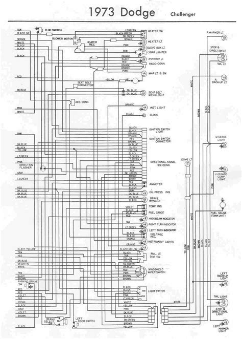 Electrical Wiring Diagram Dodge Challenger
