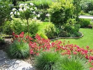 Rosen Und Stauden Kombinieren : beetgestaltung mit hochstammrose zeigt her eure fotos mein sch ner garten forum ~ Orissabook.com Haus und Dekorationen