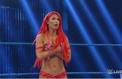 Wardrobe Malfunction Eva Becky Lynch Smackdown Marie