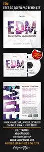 free edm free cd cover psd template flyer template psd With html edm template