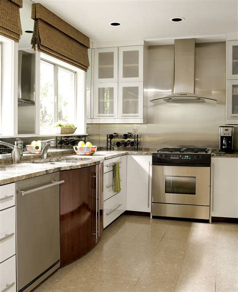 Beautiful, Efficient Small Kitchens  Traditional Home