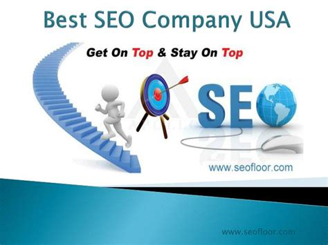 ppt best seo company usa seofloor powerpoint - Seo Services Usa