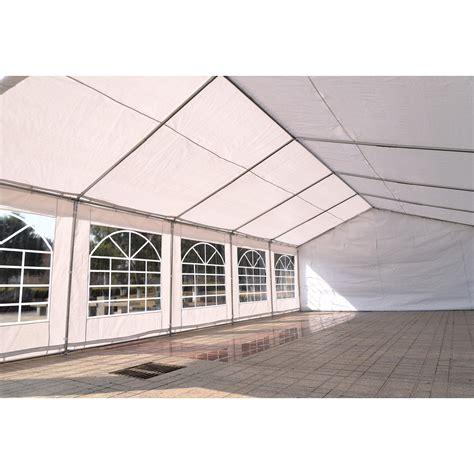 heavy duty canopy 32 x 16 heavy duty white tent canopy gazebo