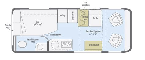Class C Motorhome Toy Hauler Floor Plans