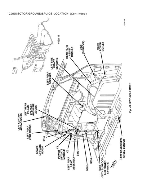 Ground Wiring Diagram 2006 Dodge Ram 2500 Diesel by Repair Guides Connector Ground Locations 2005