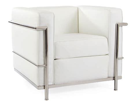 fauteuil de bureau eames lc2 fauteuil le corbusier blanc