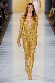 Gold Couture Pant Suits