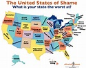 The best worst U.S. map ever - The Washington Post