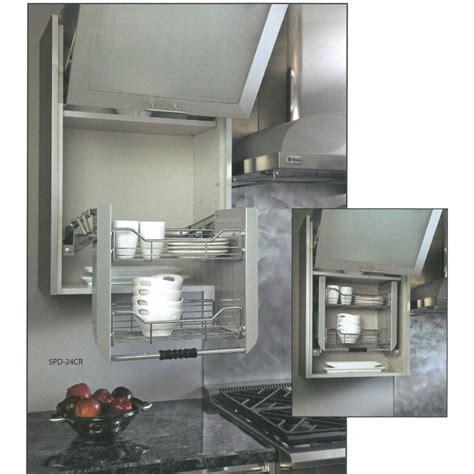 cuisine sans element haut etagères de cuisine escamotables elevateur pour meuble