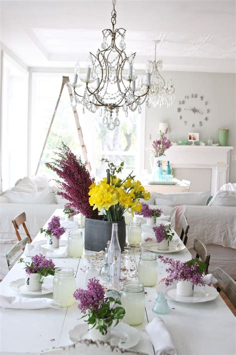 shabby chic dining room table centerpieces sumptuous dreamy whites mode other metro shabby chic dining room decorating ideas with