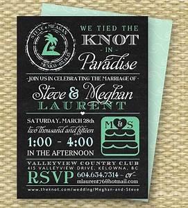chalkboard post destination wedding reception invitation With invitations for destination wedding receptions at home