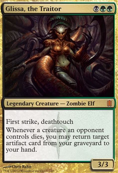 Mtg Deathtouch Ping Deck by Glissa The Traitor Mtg Card