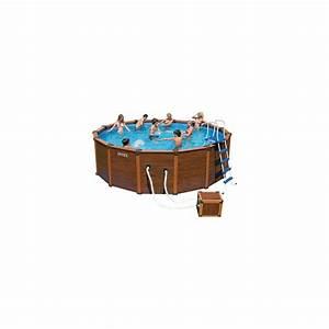 kit piscine aspect bois sequoia intex krystal clear 580 With piscine intex aspect bois
