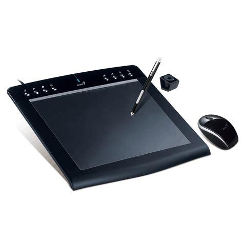 pc bureau avec ecran genius pensketch m912a tablette graphique genius sur ldlc