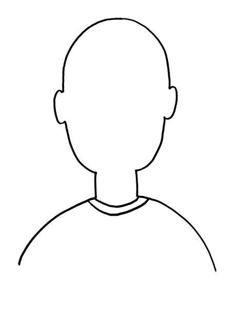 gallery blank face printables  kids drawings art