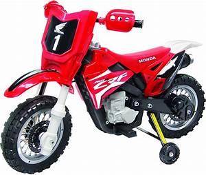 Amazon Com Best Ride On Cars Honda Crf250r Dirt Bike 6v