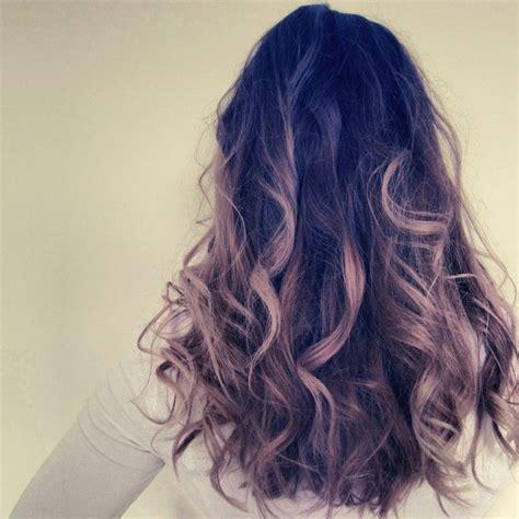 Dip Dye Hair Style Hair Hair Styles Curly Hair Styles