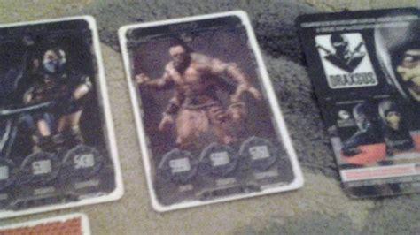 Новая коллекция карточек мортол комбот икс