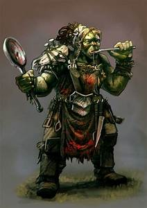 Orc Cook by carloscara on DeviantArt