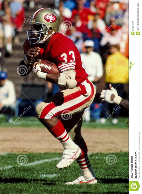 roger craig san francisco ers editorial stock image