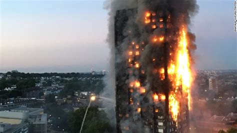 Parts of the eighth, ninth and tenth floors sparked alight just before 9am, as dozens of firefighters scrambled to the block of apartments, which. 12 dead in residential tower fire in London - CNN