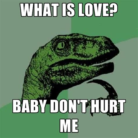 What Is The Meme - what is love baby don t hurt me create meme